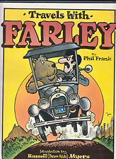 Travels With Farley-Phil Frank-Superb Newspaper Strips Collection 1St 1980-Vg