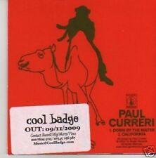 (567U) Paul Cureri, Down By The Water - DJ CD