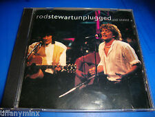 ROD STEWART cd UNPLUGGED AND SEATED   free US shipping