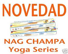 PACK 3 INCIENSO  NAG CHAMPA Yoga Series Harmony