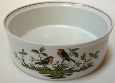 "Royal Tettau Wood Song 9"" Round Vegetable Bowl Serving Birds Germany Woodsong"