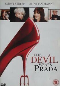 The Devil Wears Prada Region 2 DVD. Comedy.Meryl Streep/Anne Hathaway.