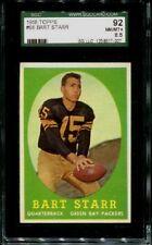 1958 TOPPS #66 BART STARR SGC 8.5 NM-MT+ 92 GREEN BAY PACKERS HOF 2ND YEAR CARD