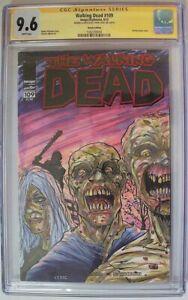 Walking Dead #109 CGC Graded 9.6 Steve Lydic Sketch Image Comics 4/13