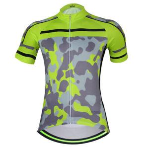 Herren Kurzarm Radtrikot Team Rennrad Trikot Fanrrad Kleidung Shirt Tops S-5XL