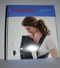 Baby Bjorn Baby Carrier Original Classic - Black Cotton (BabyBjorn) NEW