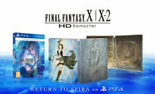 FINAL FANTASY X X-2 HD REMASTER LIMITED EDITION SONY PS4 NEW ENGLISH STEELBOOK