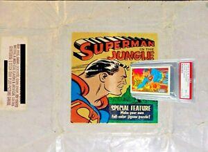 1968 A&BC Superman in the Jungle A JUNGLE INFERNO #4 NM-MINT 8 - garno PSA