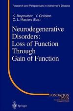 Research and Perspectives in Alzheimer's Disease: Neurodegenerative Disorders...