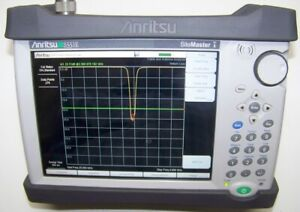 Near Mint Anritsu S331E Color Site Master with touch screen  Fully tested!