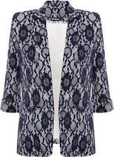 Hip Length Polyester None Regular Waistcoats for Women