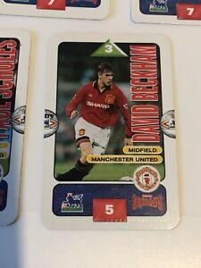 Subbuteo Squads David Beckham -FIRST Rookie & Class of 92 1995/96 Manchester UTD