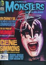 KISS Famous Monsters #226 Autographed by Gene Simmons 8x10 BECKETT Authenticated