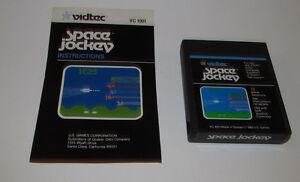 Space Jockey Atari 2600 with Instruction Manual Booklet Book Very Good Shape