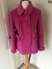 Lakeland Short Jacket Size 14. Pink/soft/belt Large Buttons.