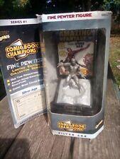 Amazing Fantasy Spider-man Pewter Mini Statue Marvel 1996 Comic Book Champions