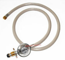 "1/4""  LPG Gas Hose with Regulator 1.8M - Good Quality Australian Product"