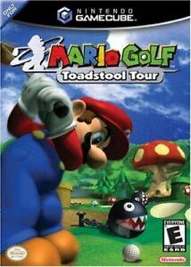 Mario Golf Toadstool Tour Nintendo Gamecube - Game Only