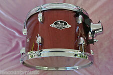 """ADD this PEARL EXPORT 12"""" BLACK CHERRY GLITTER RACK TOM to YOUR DRUM SET! #T289"""