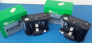 Fuji GX680 Series Roll film inserts to Film Back. Two, identical. Original boxes