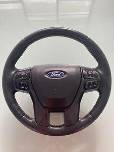 Ford Ranger PX Leather Wildtrak Steering Wheel (Free Postage)
