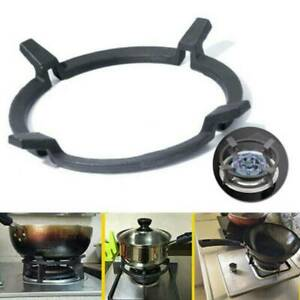 Wok Trivet Universal Gas Stove Cast Iron Stand Rack Support Ring Kitchen Cooktop