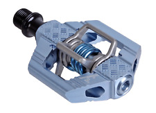 Crank Brothers Candy 3 MTB Mountain Bike Pedals with Cleats - Slate Blue