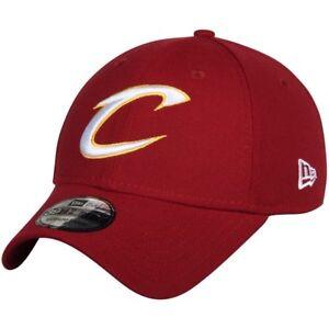 New Era Cleveland Cavaliers Cardinal Red Team Classic 39Thirty Flex Hat MED/LRG