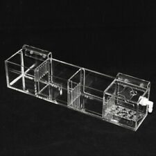 Clear Acrylic External Aquarium Water Fish Tank Filter Trickle Upper Box