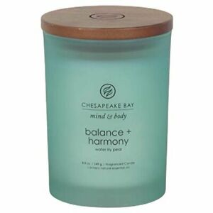 Chesapeake Bay Candle Glass Jar Water Lily Pear Candle ,8.8 oz. / 249 g.