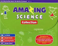 Science for Children Ages 4-8 Box Set: 14 Books, Parent Guide, Poster & Stickers