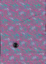 FLANNEL PINK BLUE BETH ANN BRUSKE DAVID TEXTILES FABRIC SOLD BY THE YARD