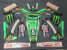 KAWASAKI KXF450 2012-2015 N-Style Pro Circuit TEAM graphique + plastiques gr1507