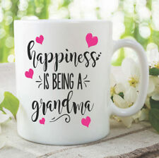 Grandma Mug Happiness Is Being A Grandma Gifts Coffee Mugs Tea Cups WSDMUG1000