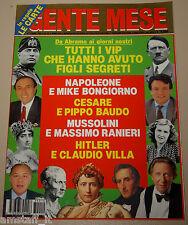 GENTE MESE=1993/10=TUTTI VIP CHE HANNO AVUTO FIGLI SEGRETI=HITLER=MUSSOLINI=ECT