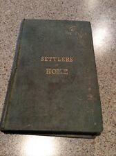 1st Edition 1841 Settlers At Home Harriet Martineau D Appleton And Co New York