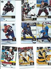 2006-07 UPPER DECK SERIES 1 AND 2 HOCKEY Complete your set 20 card lot W/ STARS