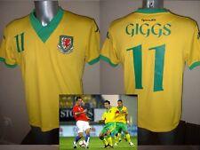 Wales Shirt Jersey Ryan Giggs Medium Soccer Football Great Britain Team GB Kappa