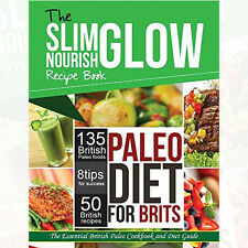 The Paleo Diet for Brits Cook Book By Rockridge Press  New Paperback