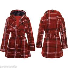 Abrigos y chaquetas de mujer sin marca de algodón y poliéster