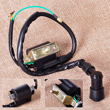 2-Wire Black Ignition Coil Fit For Chinese Dirt Bike 110cc 125cc 140cc Pitbike
