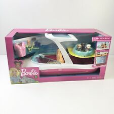 NEW Barbie Dolphin Magic Ocean View Boat Playset with Accessories New in Box