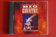 BIG COUNTRY THROUGH A BIG COUNTRY GREATEST HITS 1990 ULTRA RARE RTB CD SERBIA