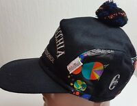 CONTE OF FLORENCE HAT WOOL CAP SKI VINTAGE WINTER EAR FLAP BLACK Rossignol L 59