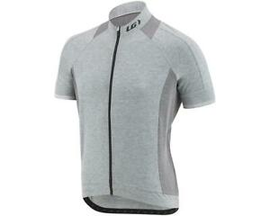 Louis Garneau Mens Lemmon 2 Cycling Jersey Heather Gray Size XXL 1020909-020