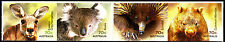 Australia 2015 Native Animals - Strip of 4 A  Stamps Self Adh Ex Booklet, MNH