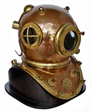 ITALIAN 12 BOLT  I.A.C. DIVE HELMET RECREATION 1930's Era