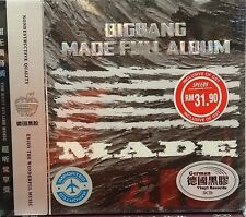 NEW CD Korea BIGBANG Made Full Album (Original Artist & Recording) 51 Songs