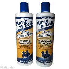 Mane 'n Tail Deep Moisturizing Hair Shampoo and Conditioner Dry Damaged Hair SET