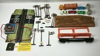 TYCO Operating Signal Man With Lighted Shack, Loading Dock Accessories & Others
